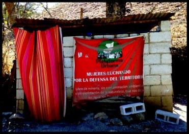 Women in Resistance, La Puya, Guatemala, mining.