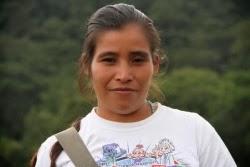 Maria Santos Dominguez, COPINH, Rio Blanco, Agua Zarca