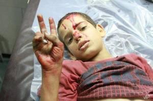gaza, child, human rights