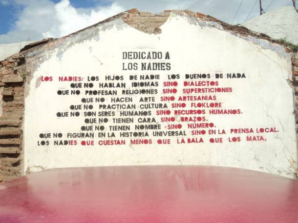 Eduardo Galeano, Los Nadies